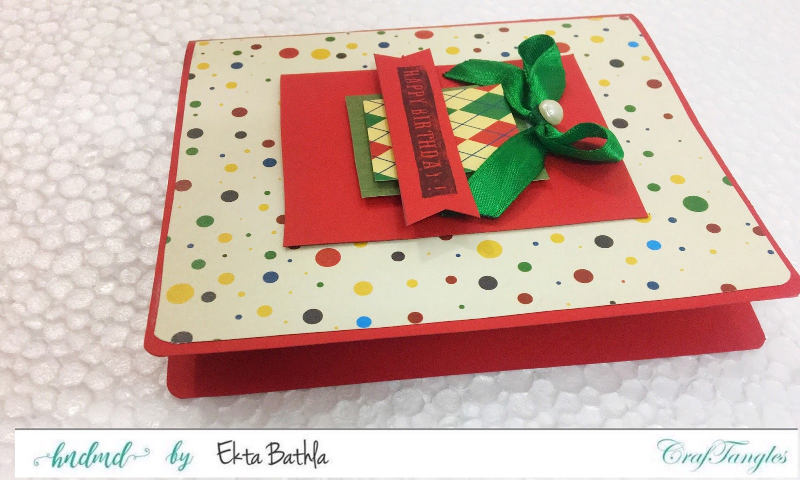 Some quick cards using patterned papers by CrafTangles 1