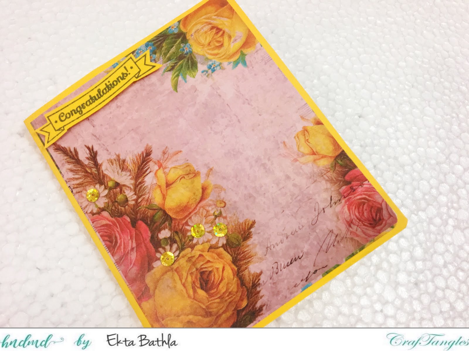 Some quick cards using patterned papers by CrafTangles 10