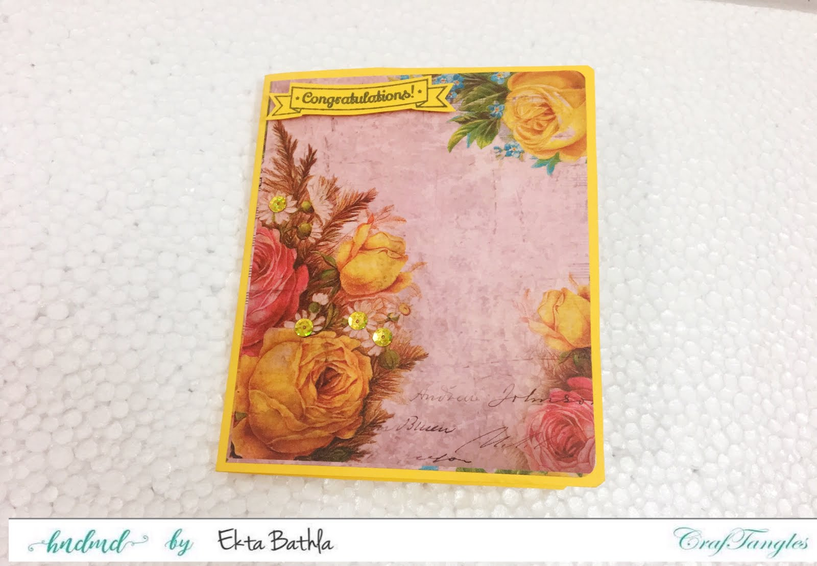 Some quick cards using patterned papers by CrafTangles 11