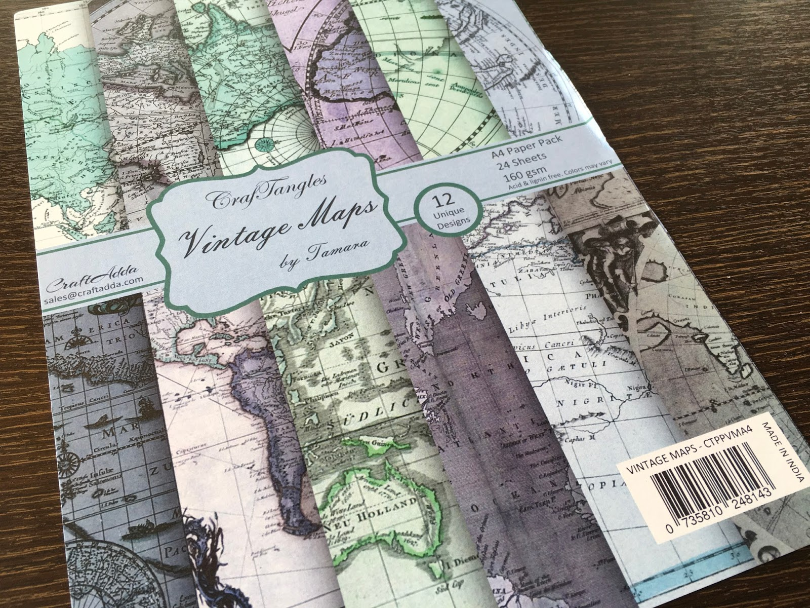 How to Make Traveler's Notebook Inserts with A4 Paper 4