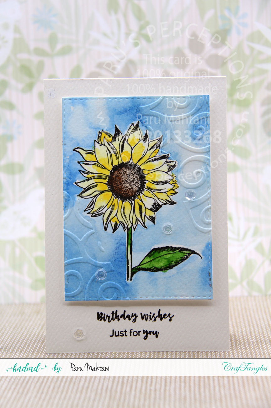 Floral birthday cards 2