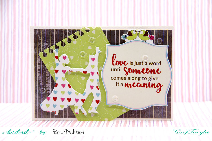 Valentine fun with new paper packs and element sheets. 3