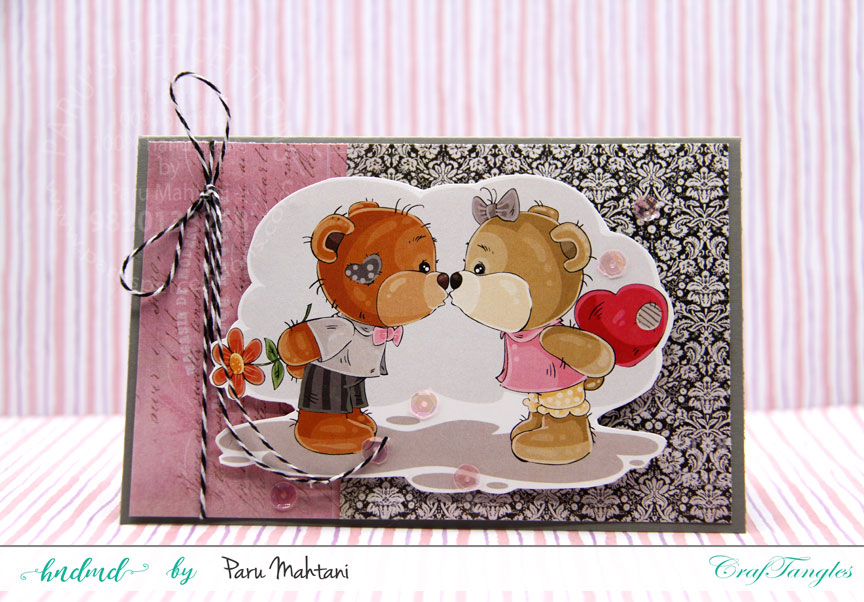 Valentine fun with new paper packs and element sheets. 4