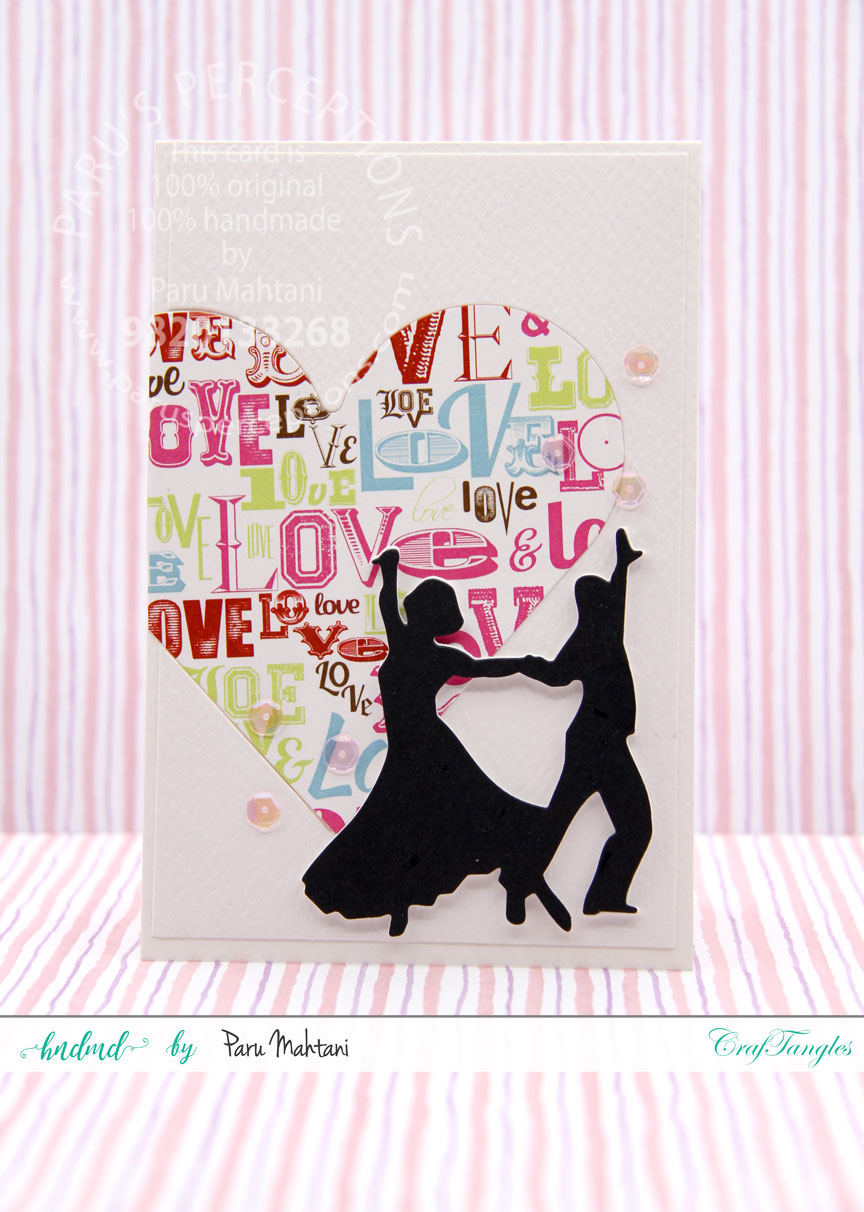 Valentine fun with new paper packs and element sheets. 2