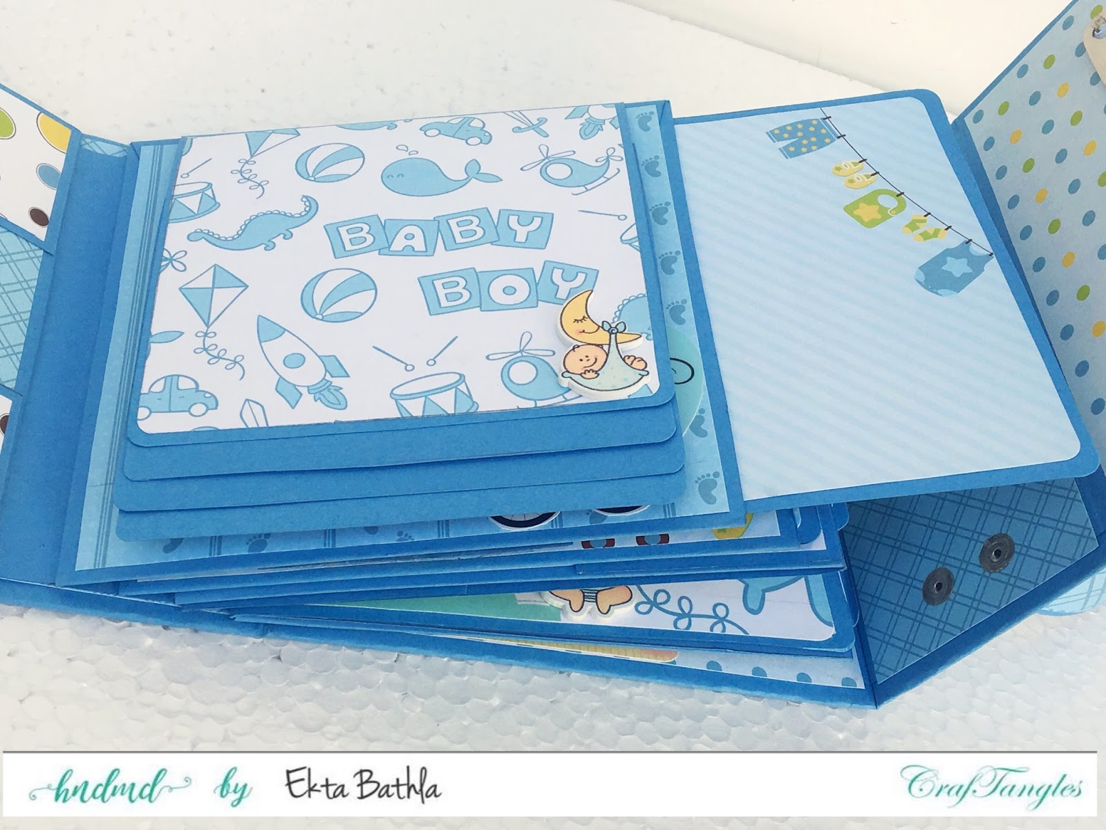 Baby Suitcase Mini Album 7