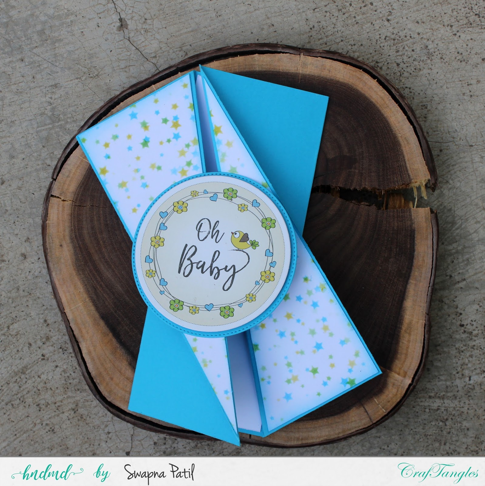 Elements on Play - Fancy fold cards 1