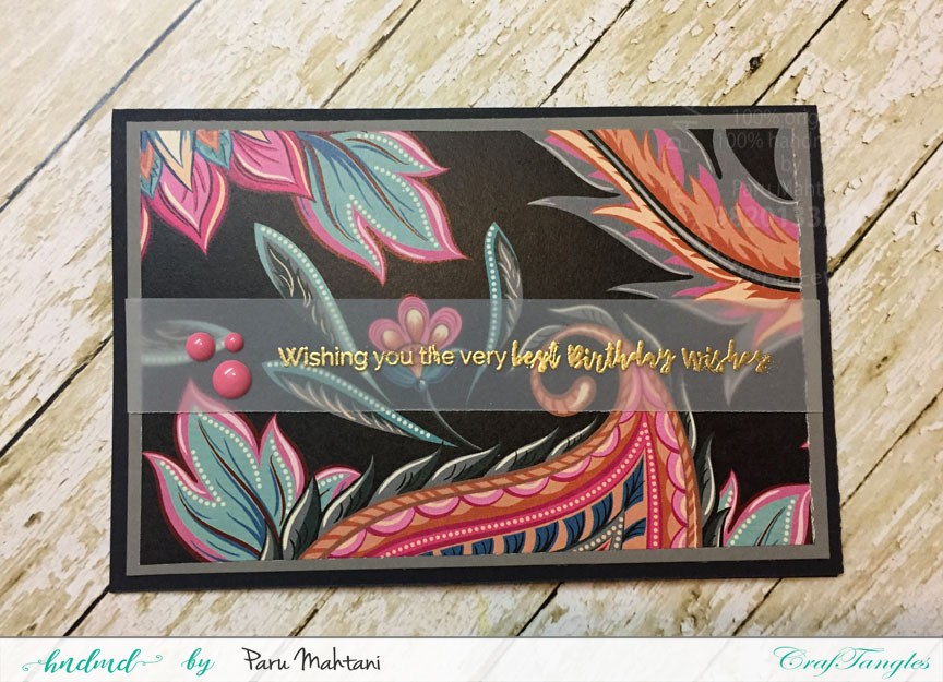 Fun with Patterned papers! 2