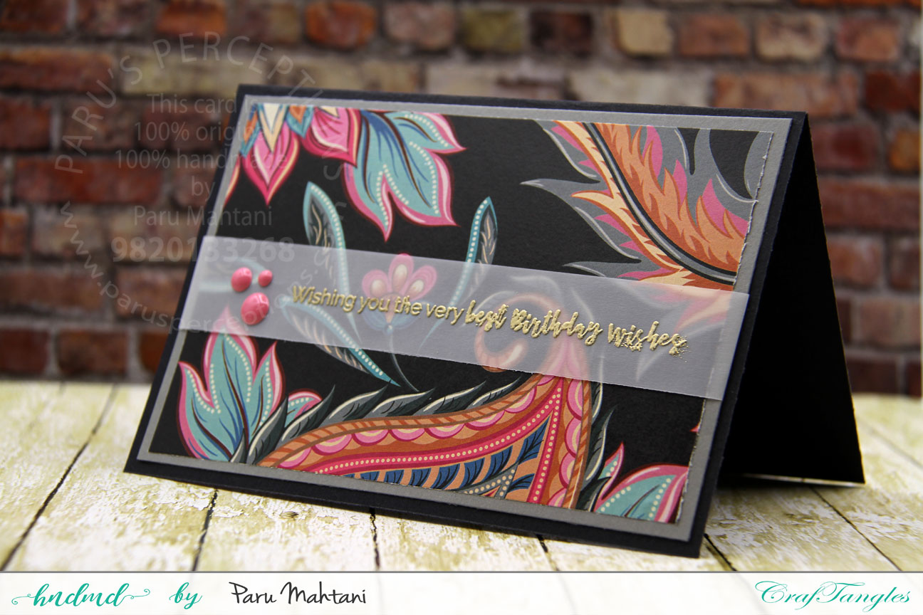 Fun with Patterned papers! 1