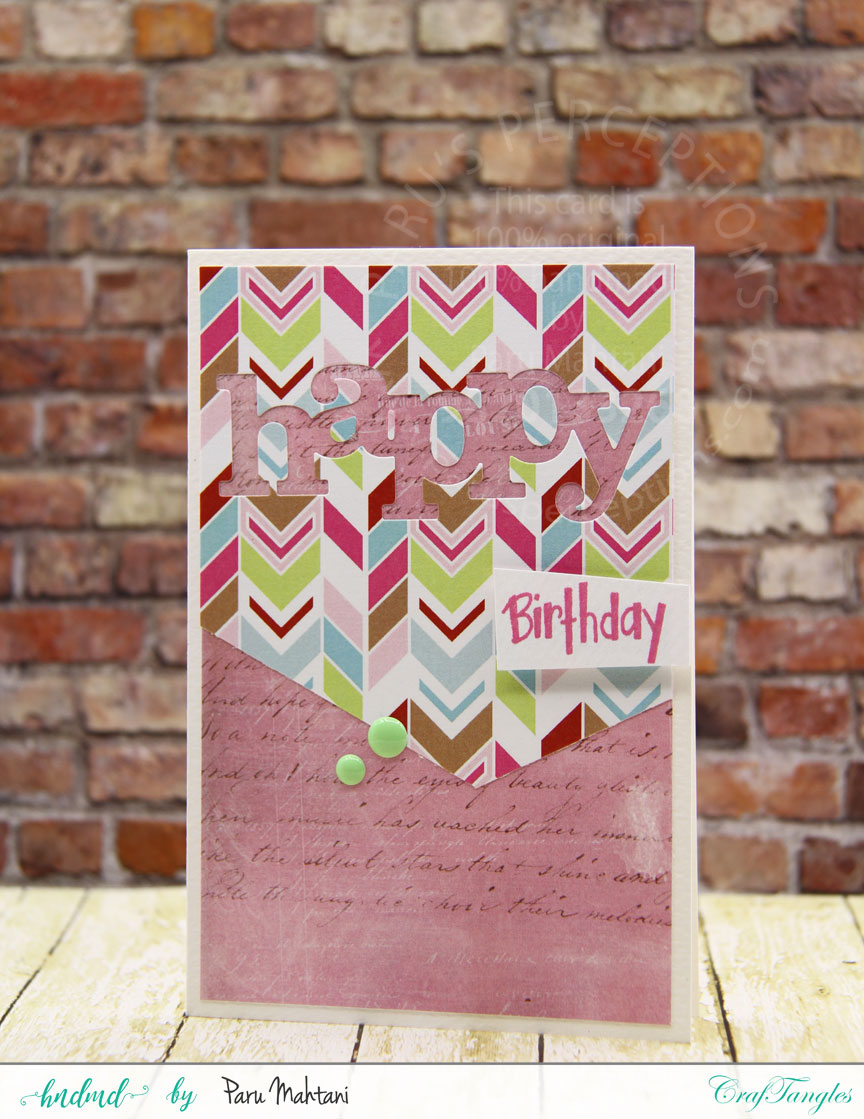 Fun with Patterned papers! 6