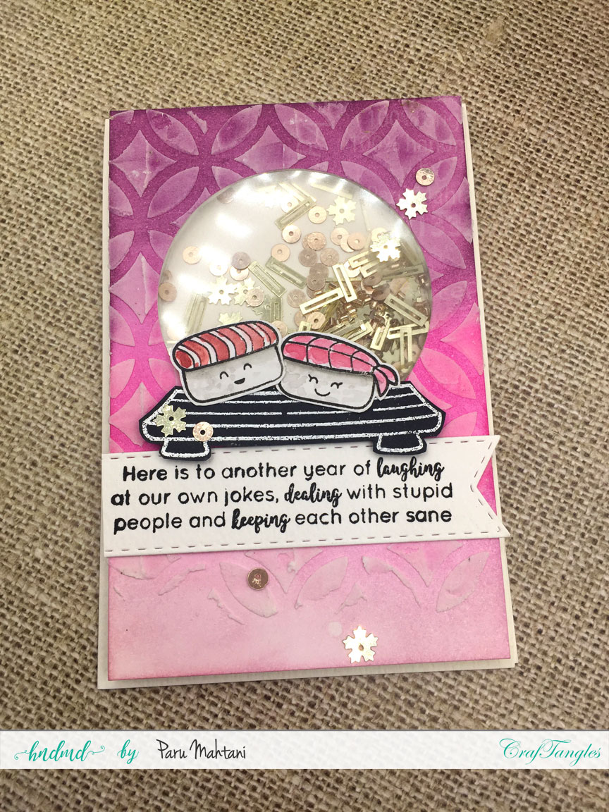 Stencils, embossing paste and Craftangles stamps!!! 3