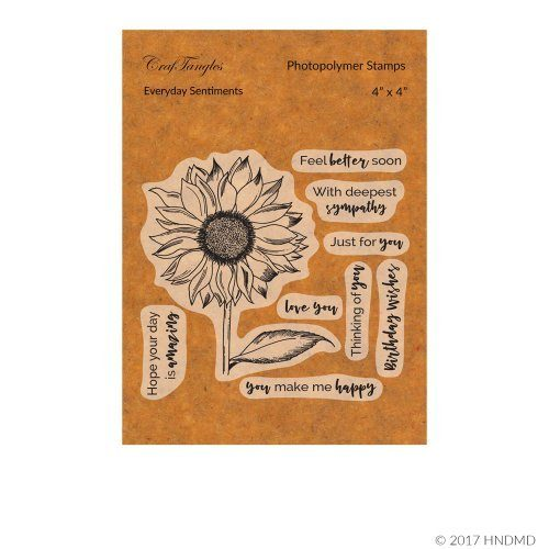 CrafTangles Photopolymer Stamps - Everyday Sentiments