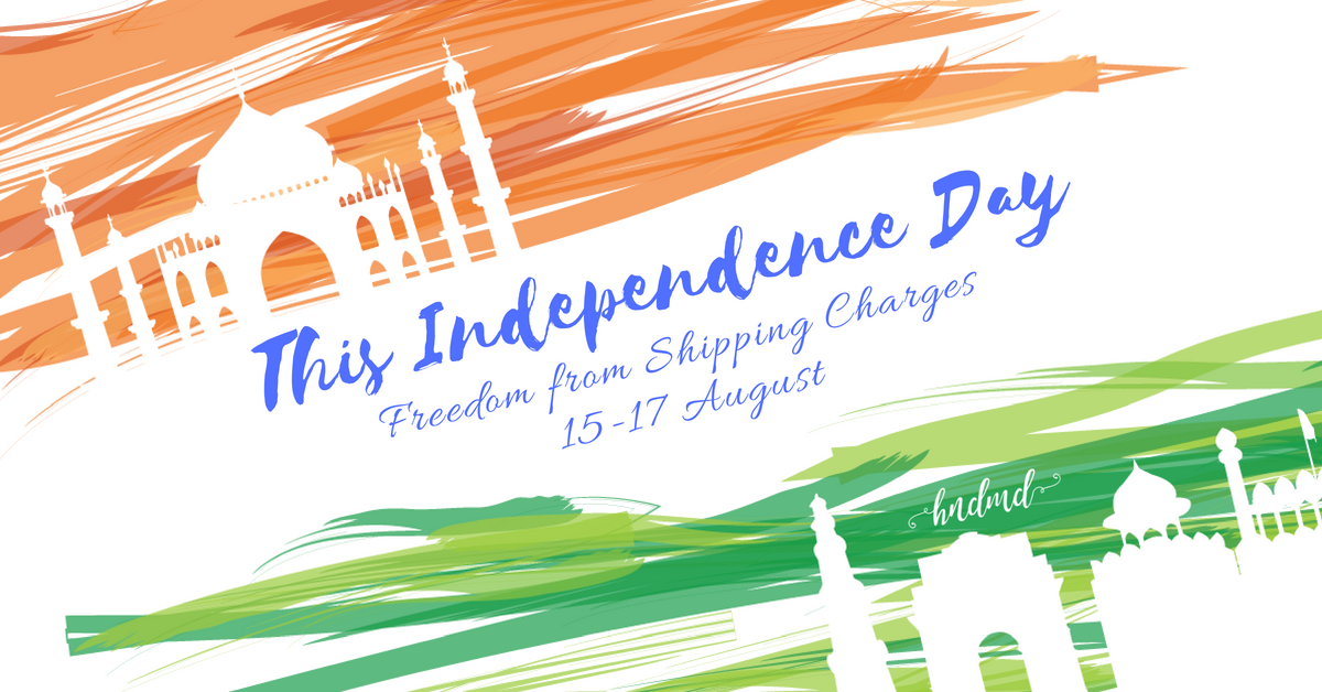 Independence Day Sale - August Free Shipping Days 1