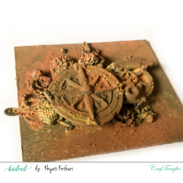 Introduction to Rust Effect Texture Paste Set by CrafTangles 2