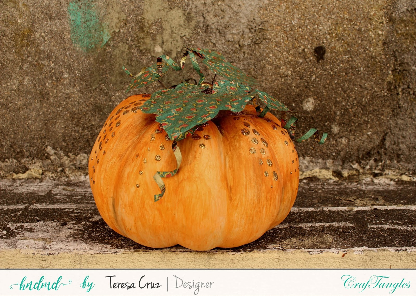 Altered Pumpkin with How to video 1