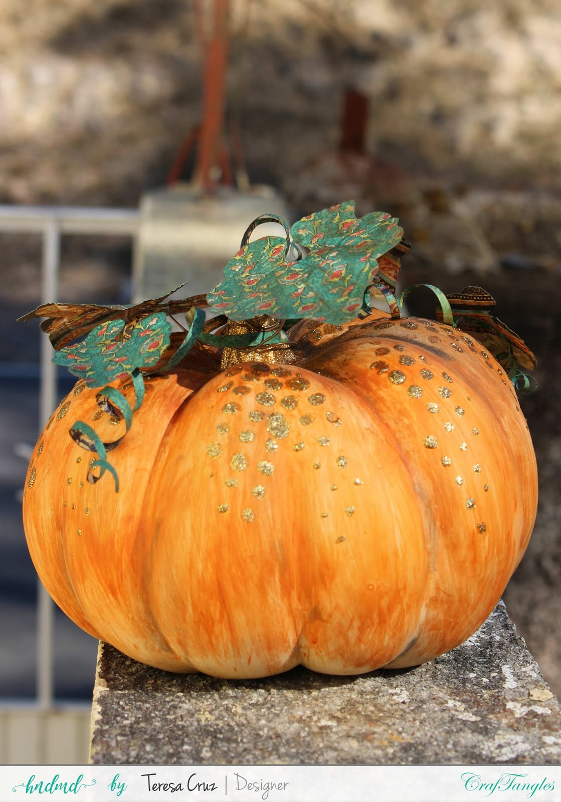 Altered Pumpkin with How to video 2