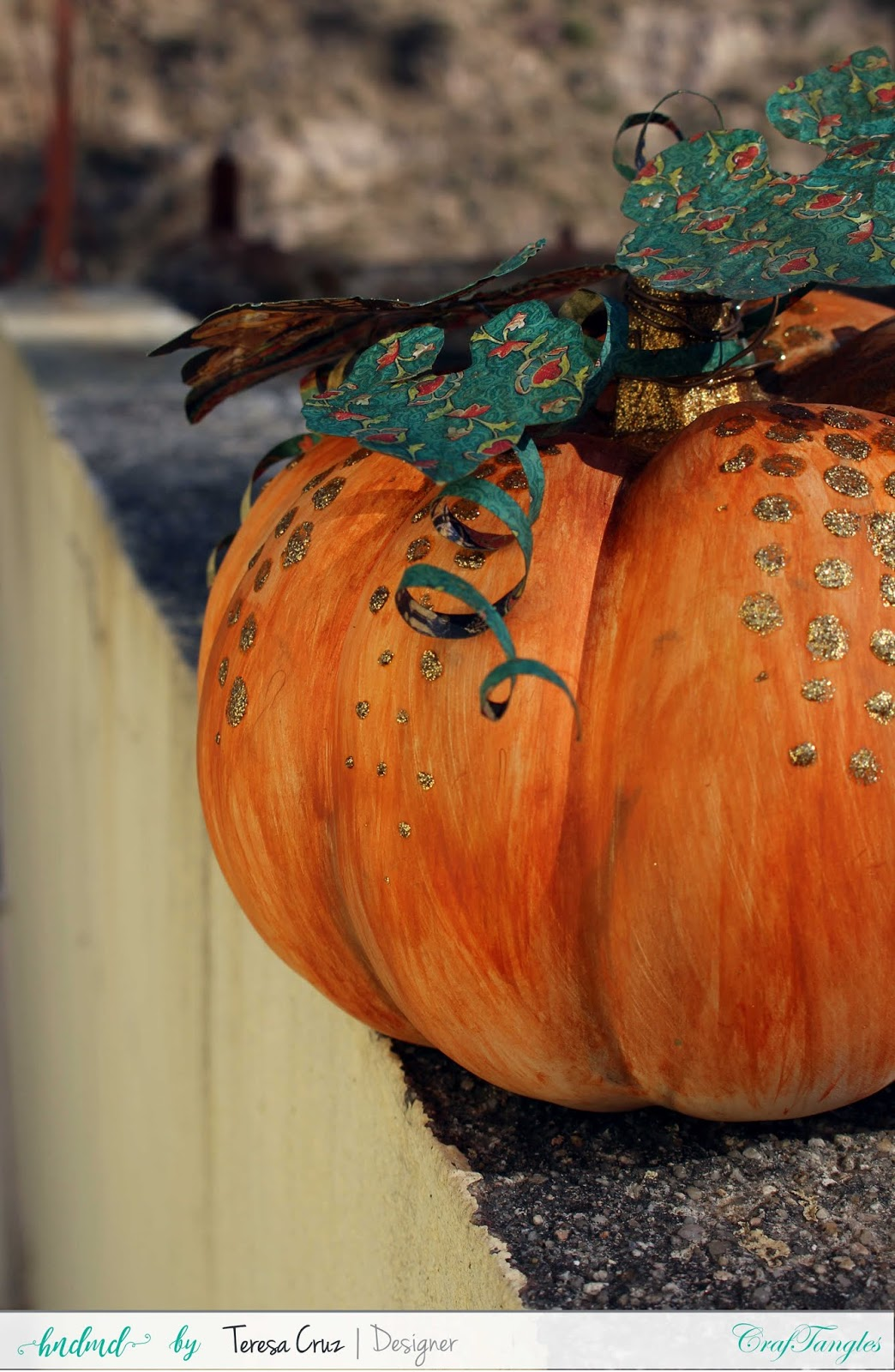 Altered Pumpkin with How to video 3