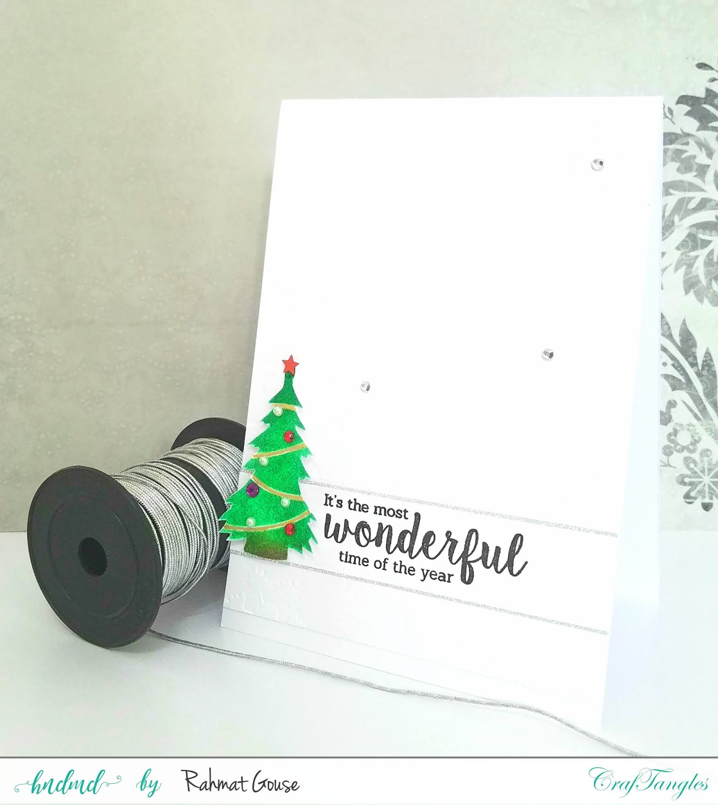 Stencils for Christmas cards 1
