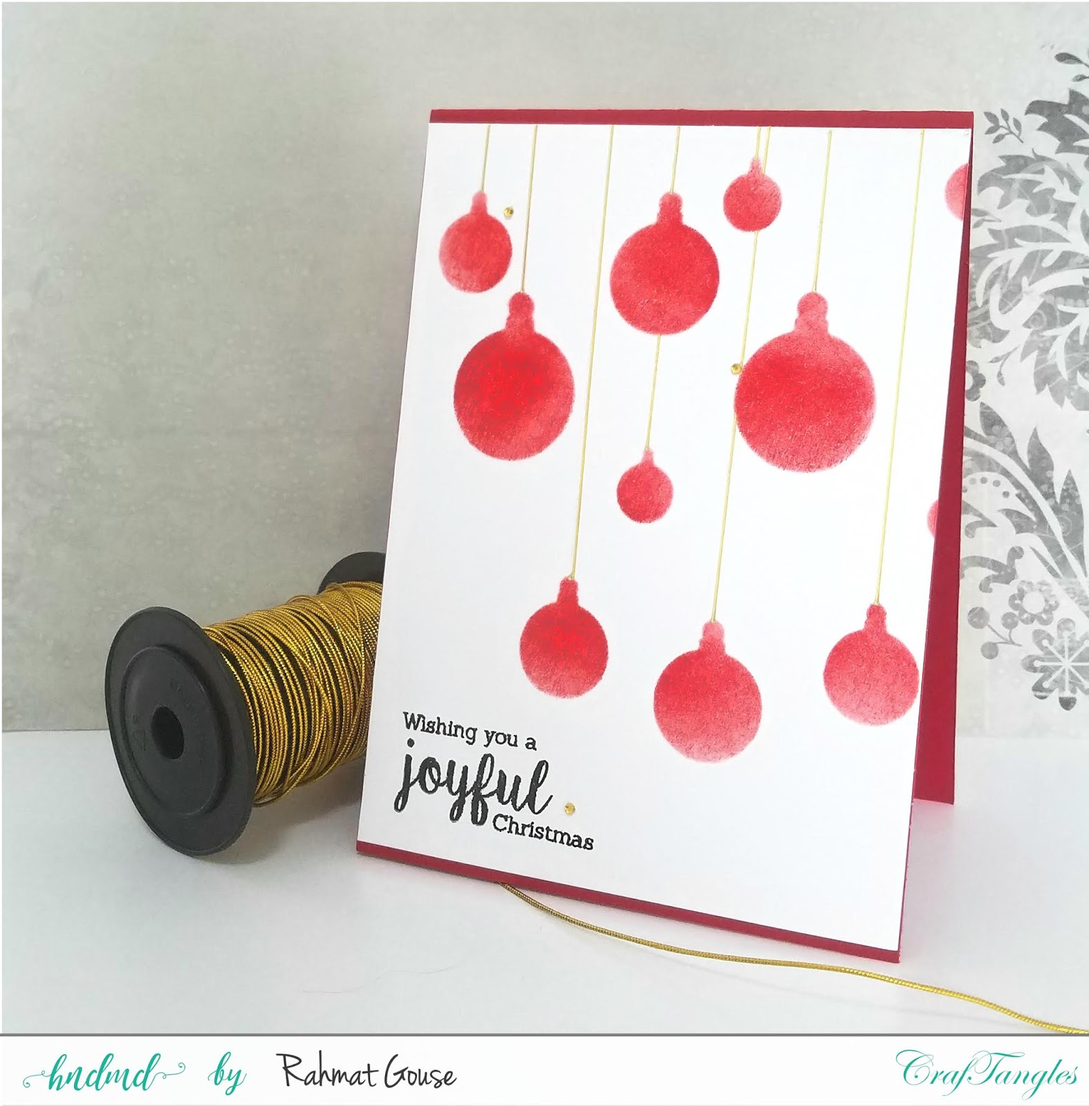 Stencils for Christmas cards 5