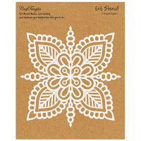 Craftangles stencils and embossing powder 7