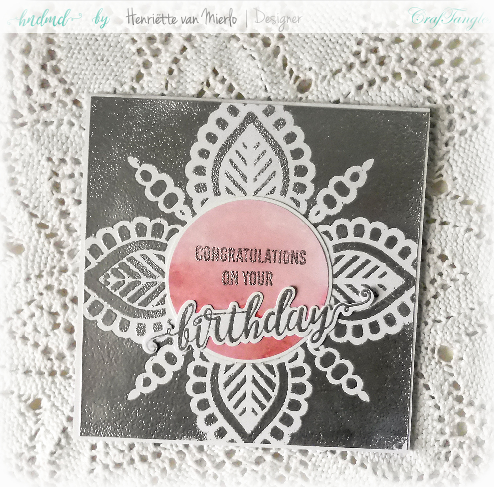 Craftangles stencils and embossing powder 5