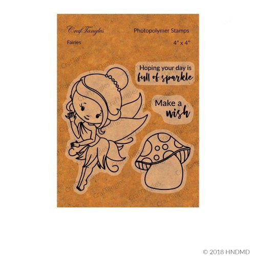 CrafTangles Photopolymer Stamps - Fairies