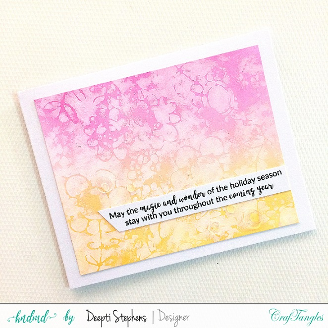JANUARY CHALLENGE | ANYTHING GOES | TRIO OF NEW YEAR CARDS 4