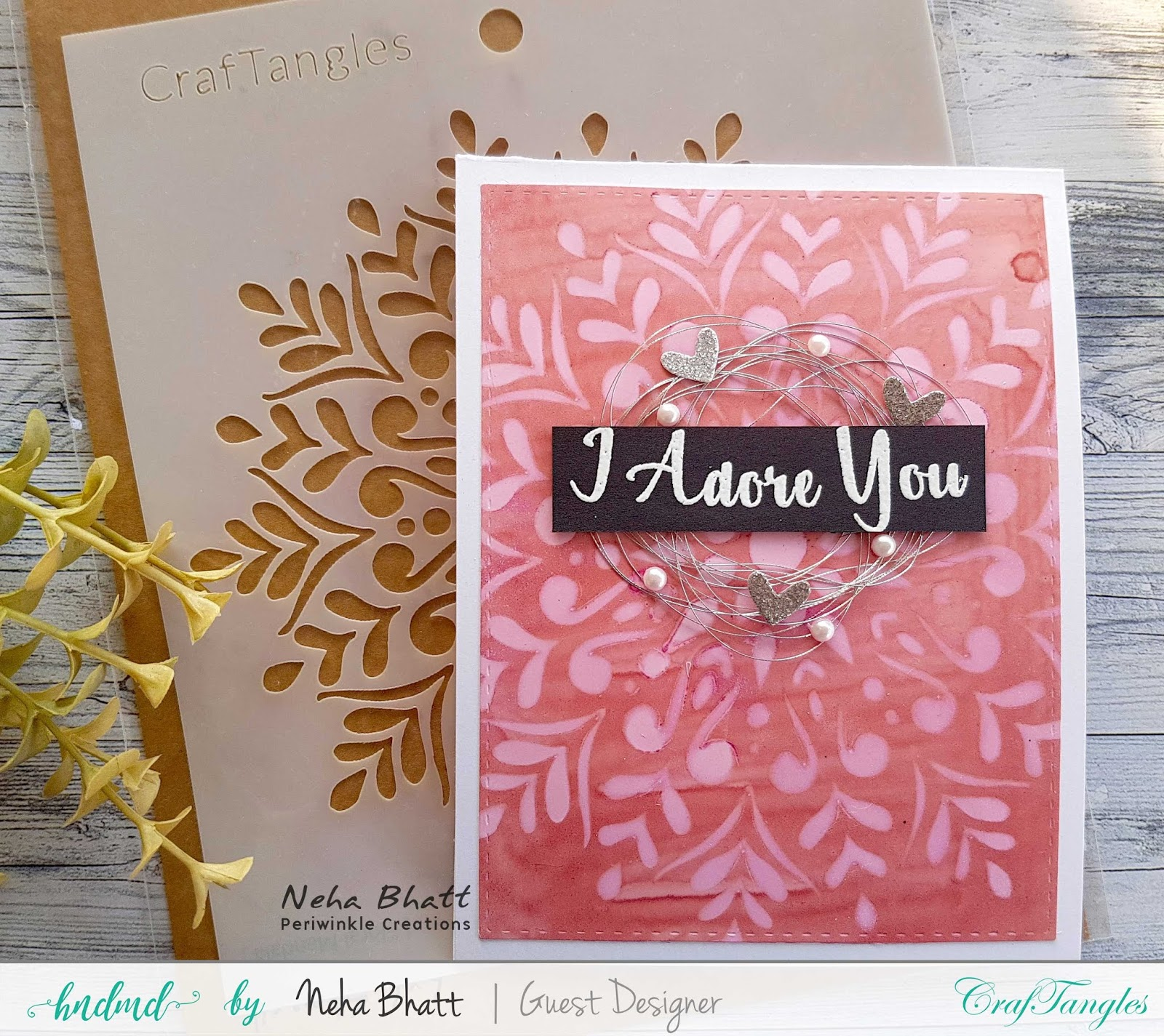 CrafTangles liquid Watercolors cards on watercolor and Yupo Paper by Neha Bhatt 17