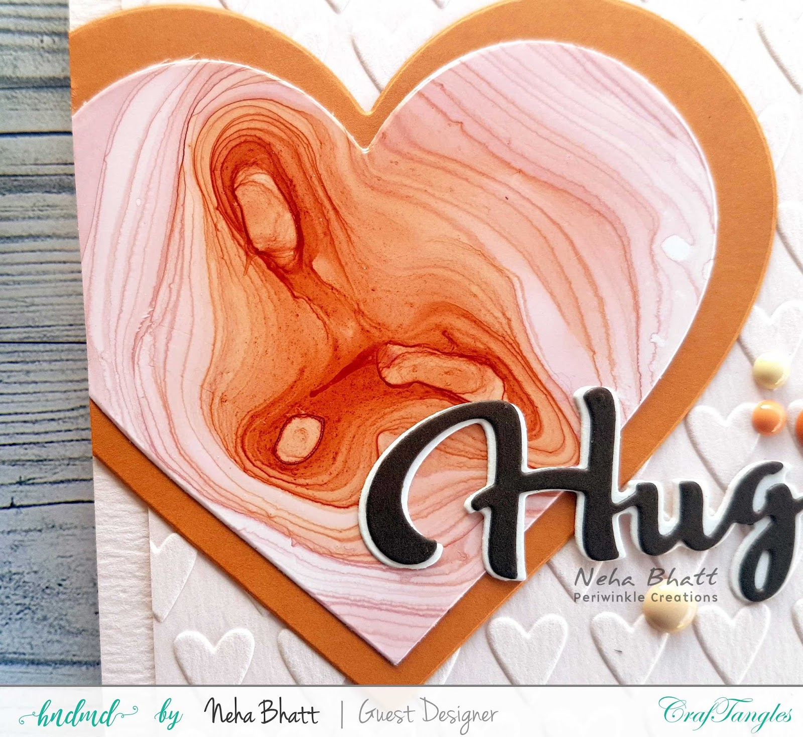 CrafTangles liquid Watercolors cards on watercolor and Yupo Paper by Neha Bhatt 15