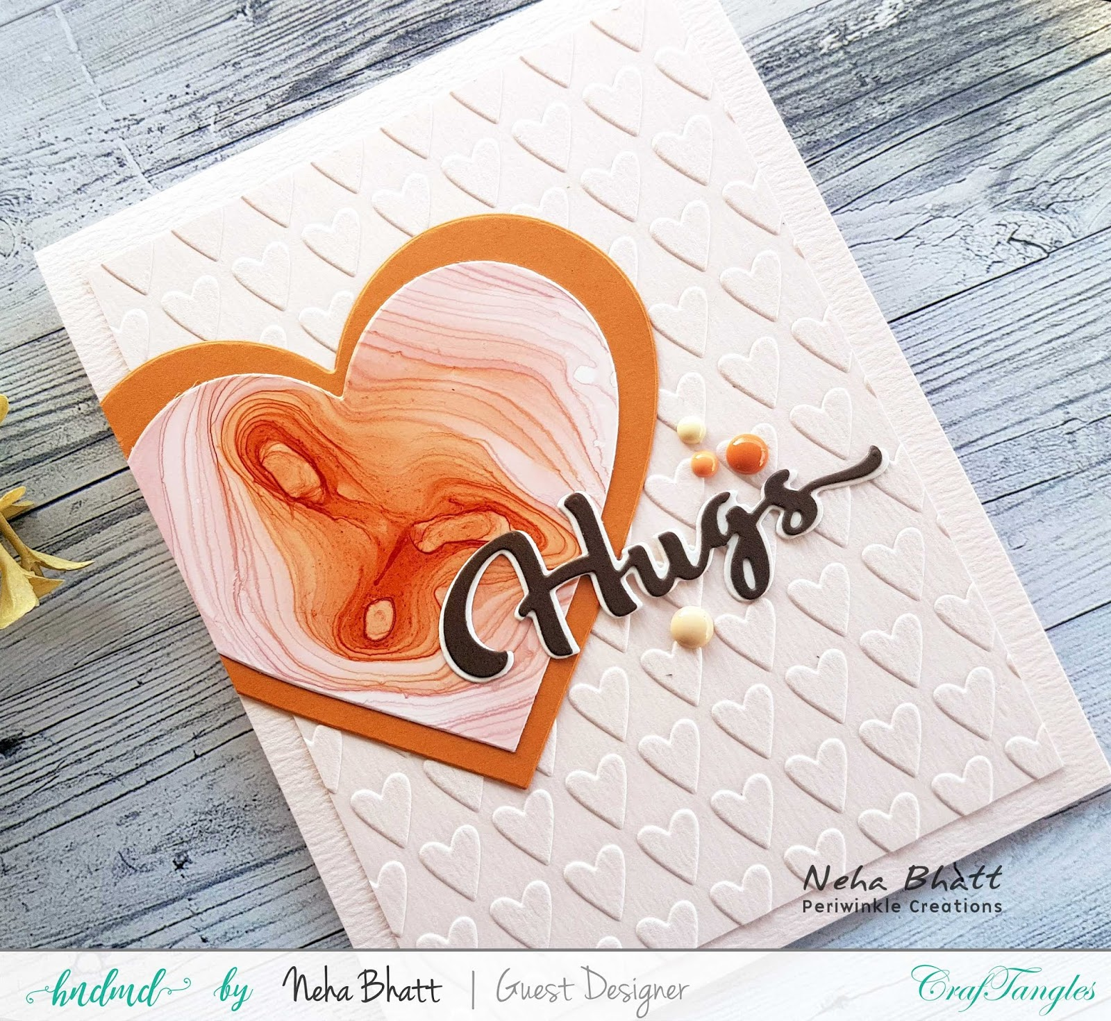 CrafTangles liquid Watercolors cards on watercolor and Yupo Paper by Neha Bhatt 16