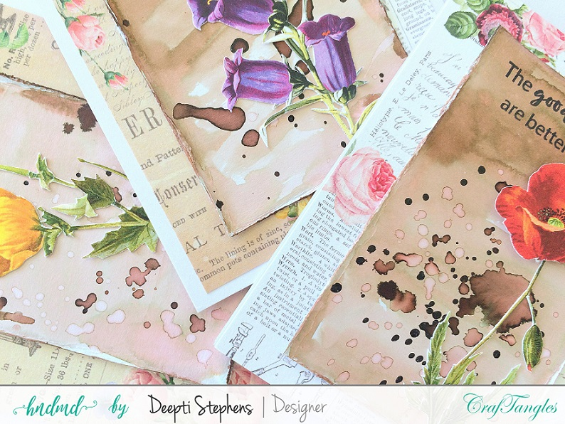 FLORAL AND TRAVEL CARDS 2