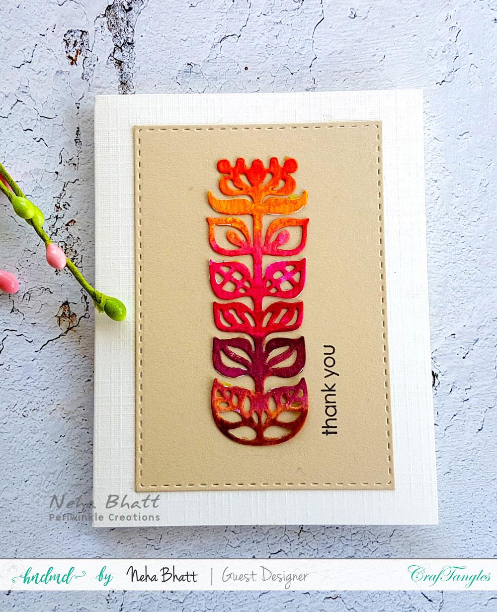 Fun watercolor inspirations by Neha Bhatt using CrafTangles liquid watercolors 9