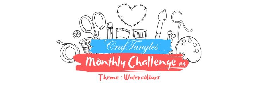 Watercolour Backgrounds! - April Watercolour Challenge 4