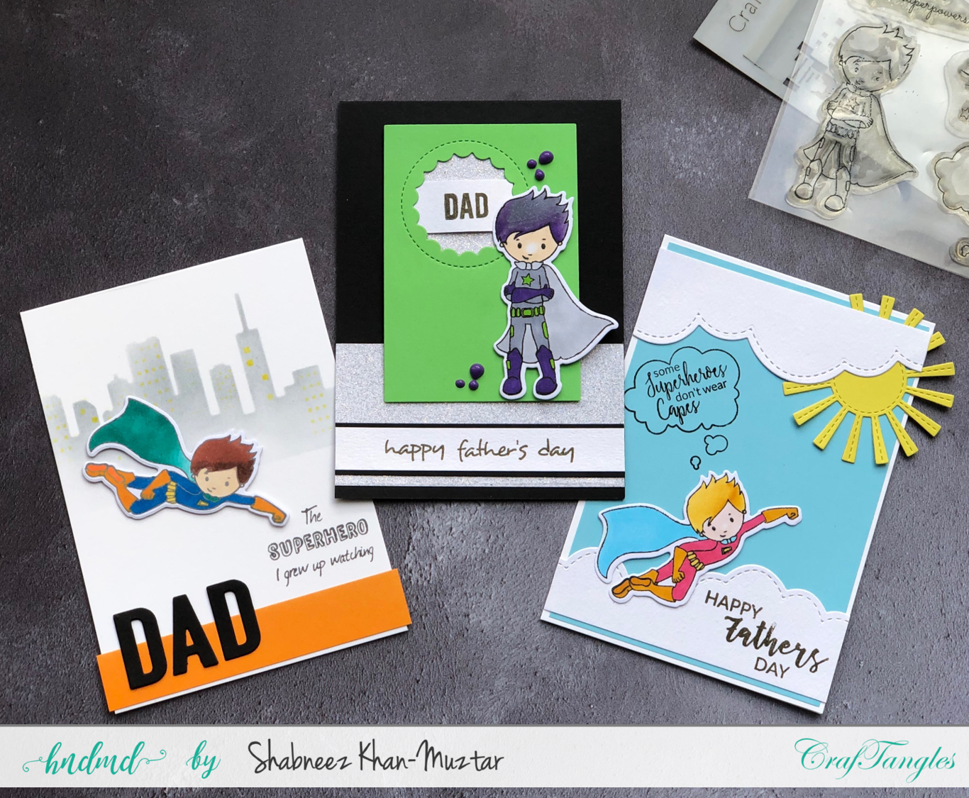My Dad The Superhero! - A Set of Father's Day Cards 1