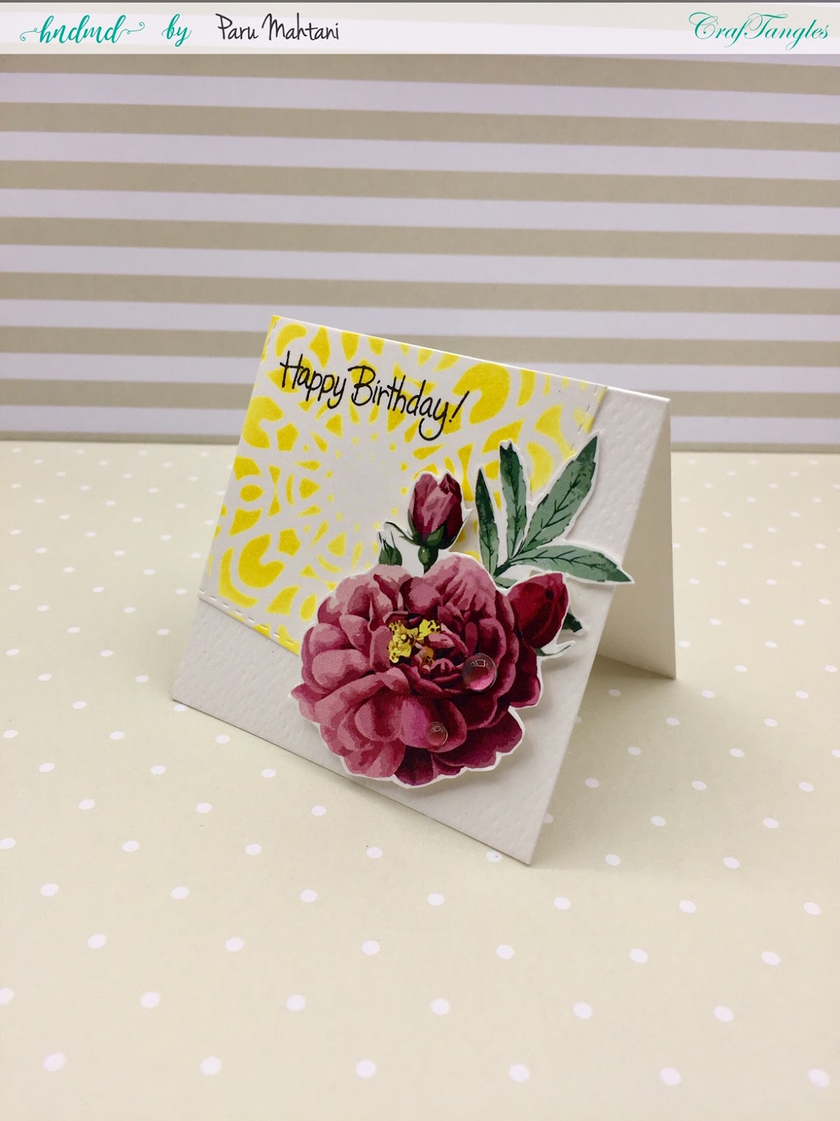 CrafTangles June 2019 Challenge - Anything Goes 3