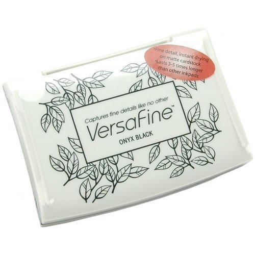 VersaFine Pigment Ink Pad - Onyx Black