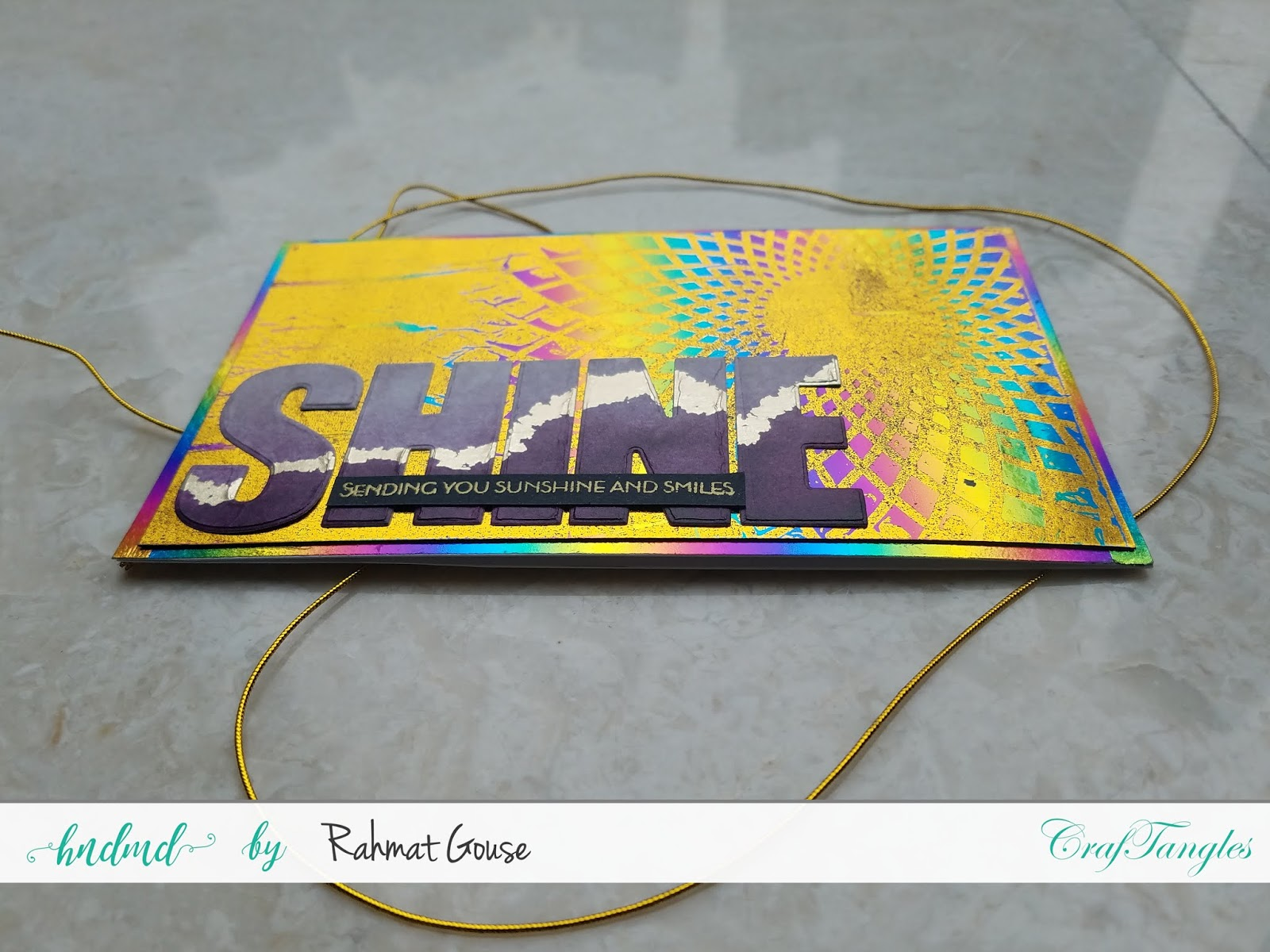 Double foiling using the negatives of stencils and foils - Rahmat 3