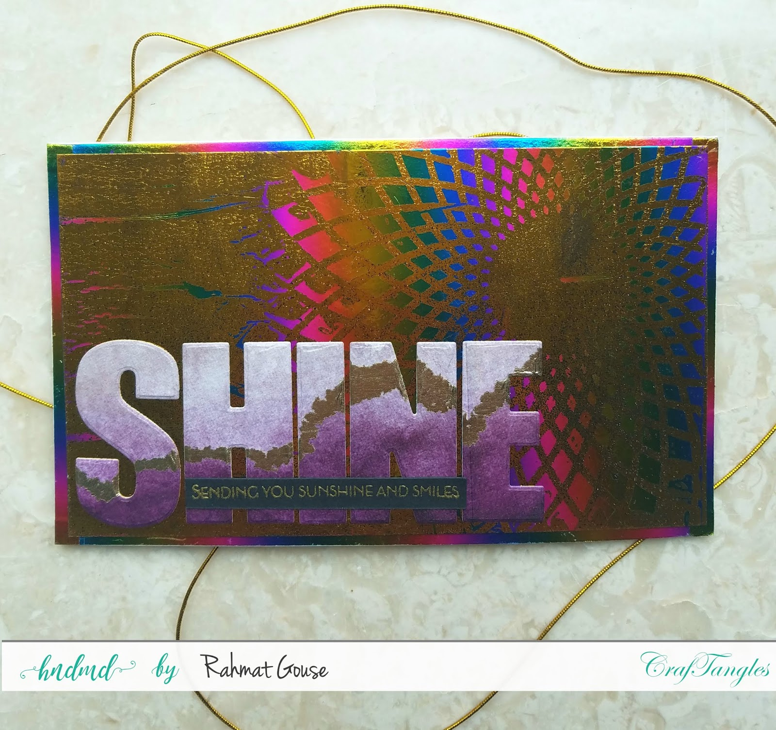 Double foiling using the negatives of stencils and foils - Rahmat 5