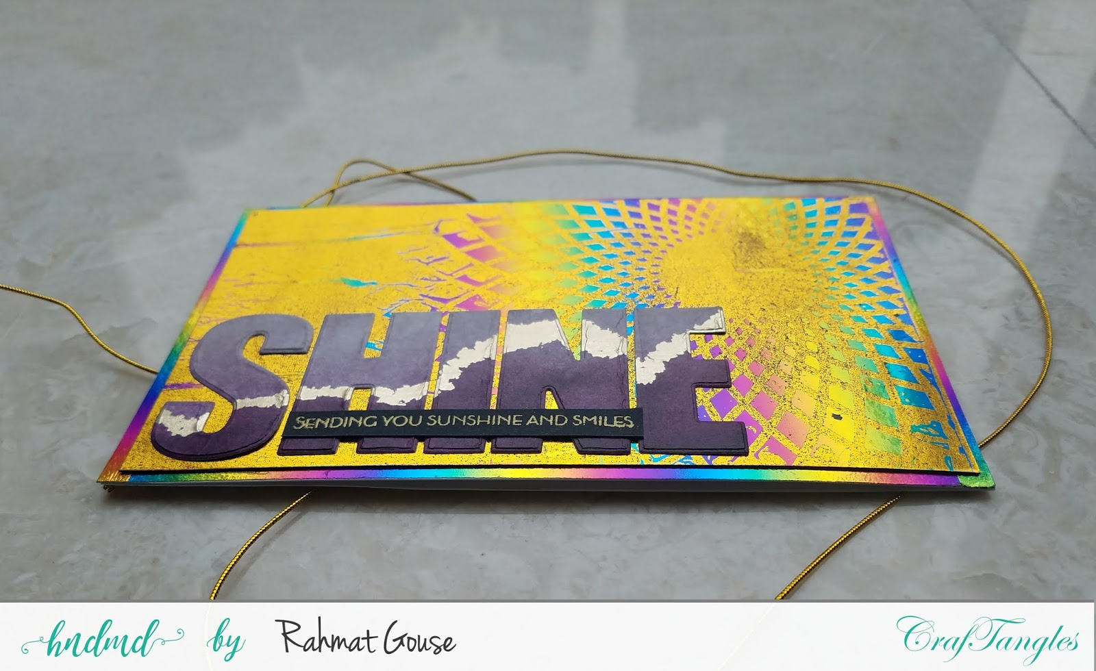 Double foiling using the negatives of stencils and foils - Rahmat 6