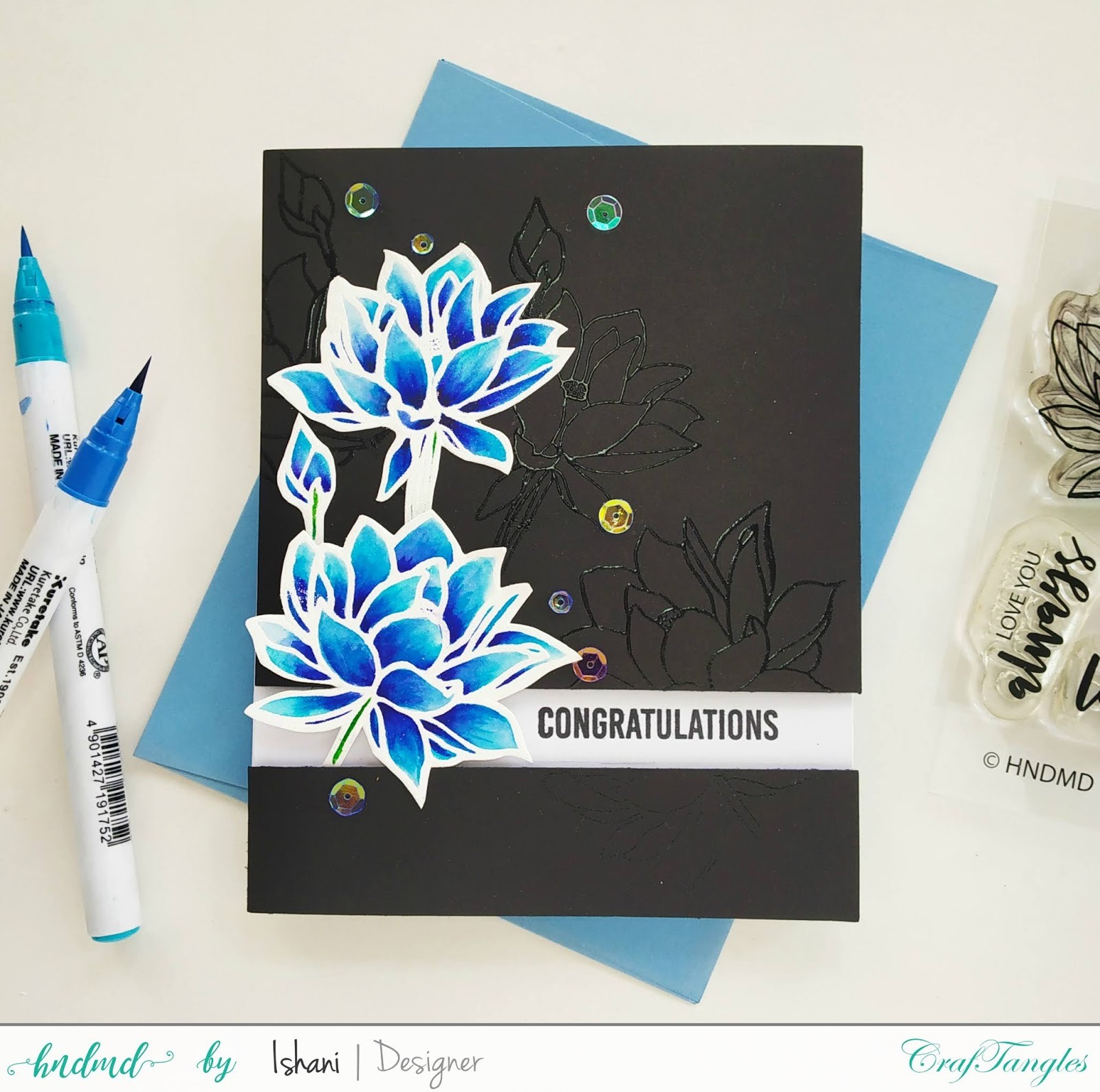 Video tutorial - 3 Simple cards featuring Stamp set - Hello Lovely. 3