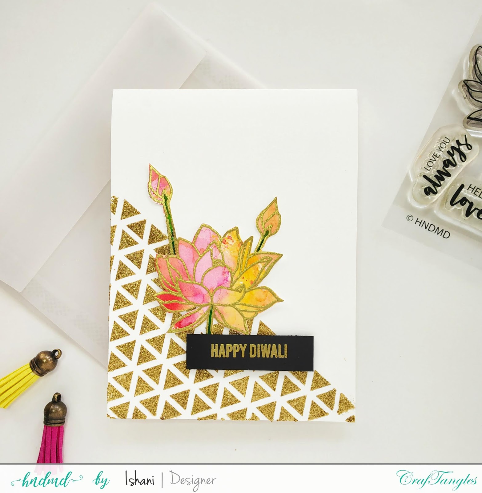 Video tutorial - 3 Simple cards featuring Stamp set - Hello Lovely. 4