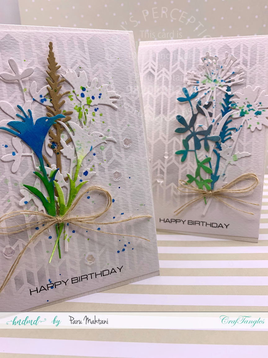 CrafTangles August 2019 Challenge - Birthday 3