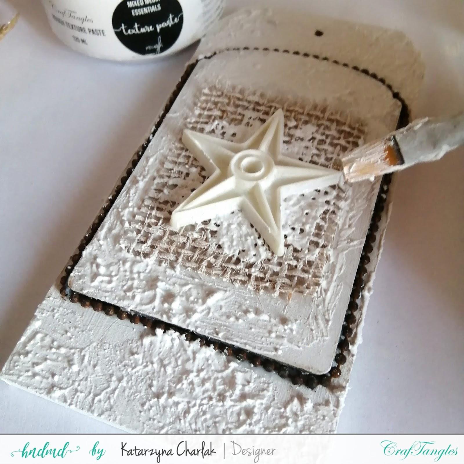 Rusty Tag- step by step tutorial by Katarzyna Charlak 3
