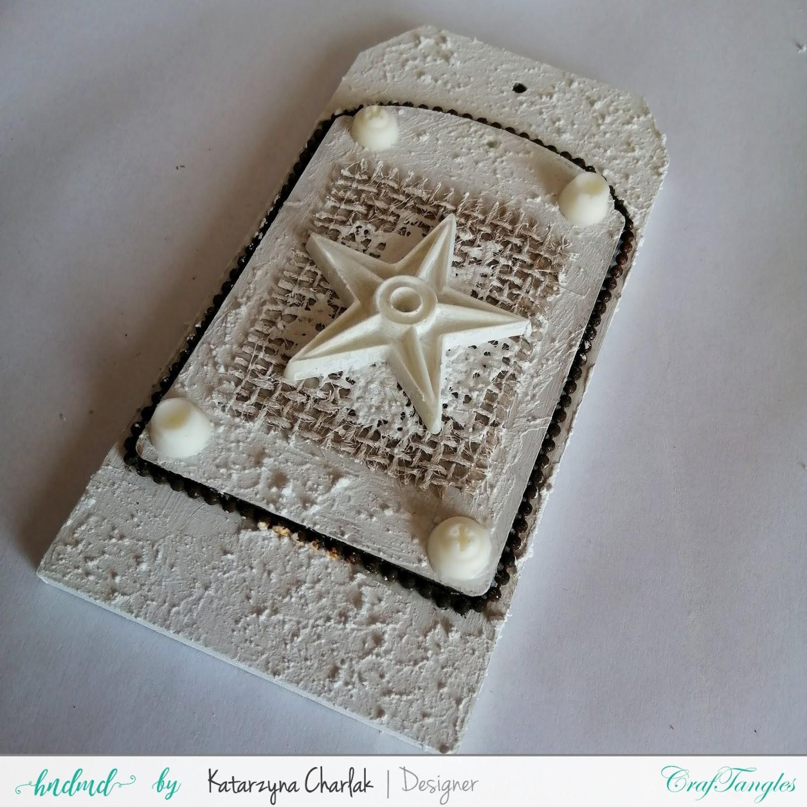 Rusty Tag- step by step tutorial by Katarzyna Charlak 4