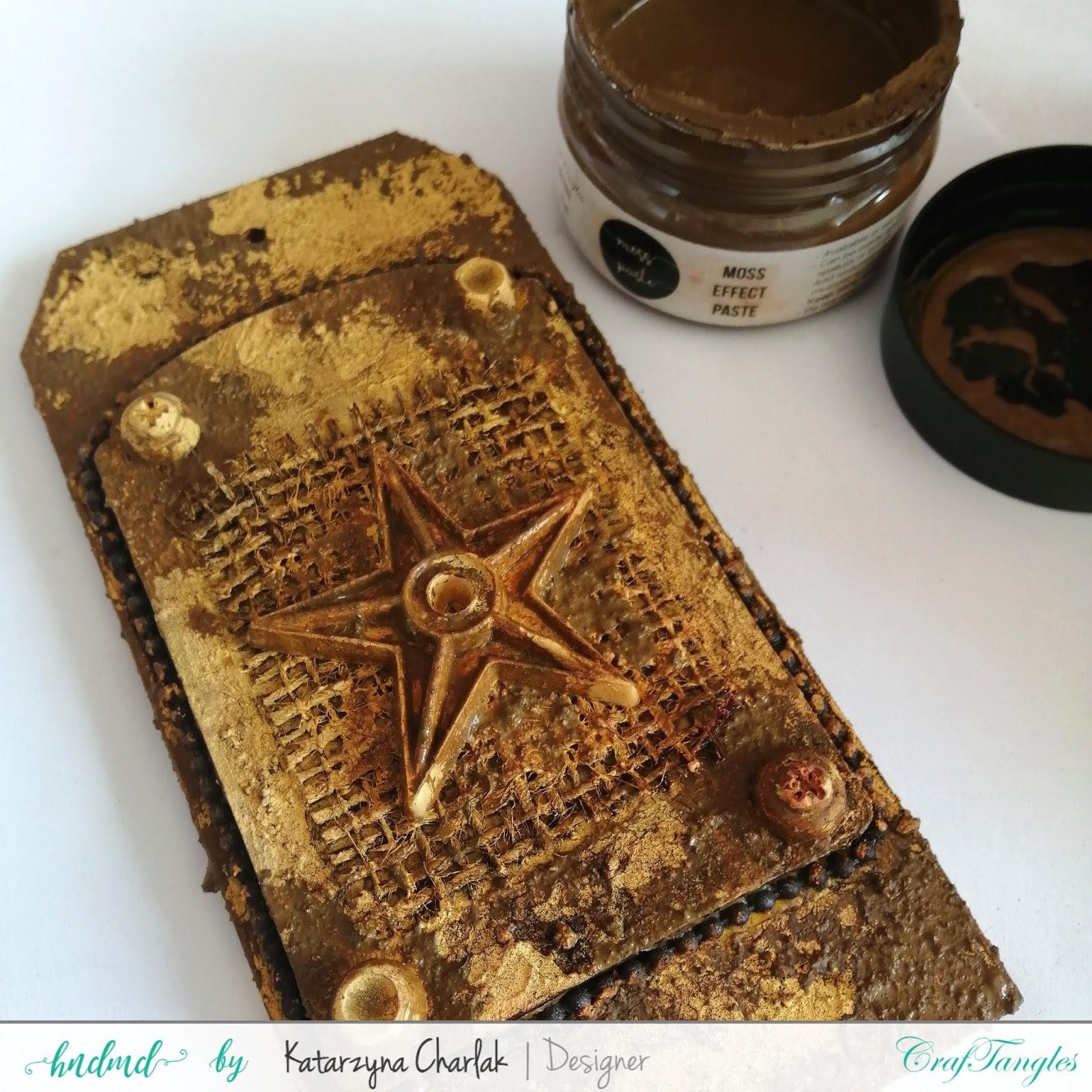 Rusty Tag- step by step tutorial by Katarzyna Charlak 8