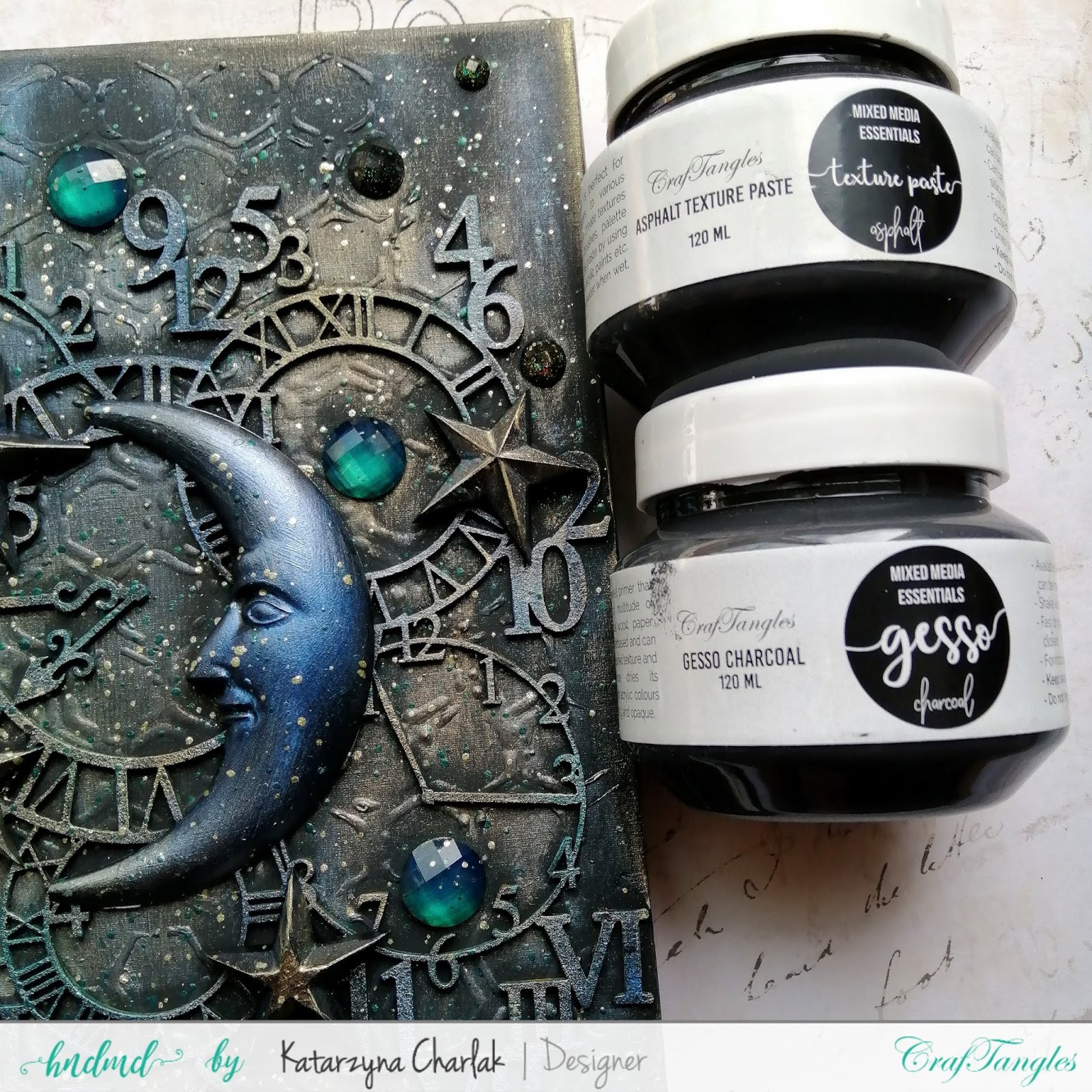 Altered Art Journal Cover by Katarzyna Charlak 6