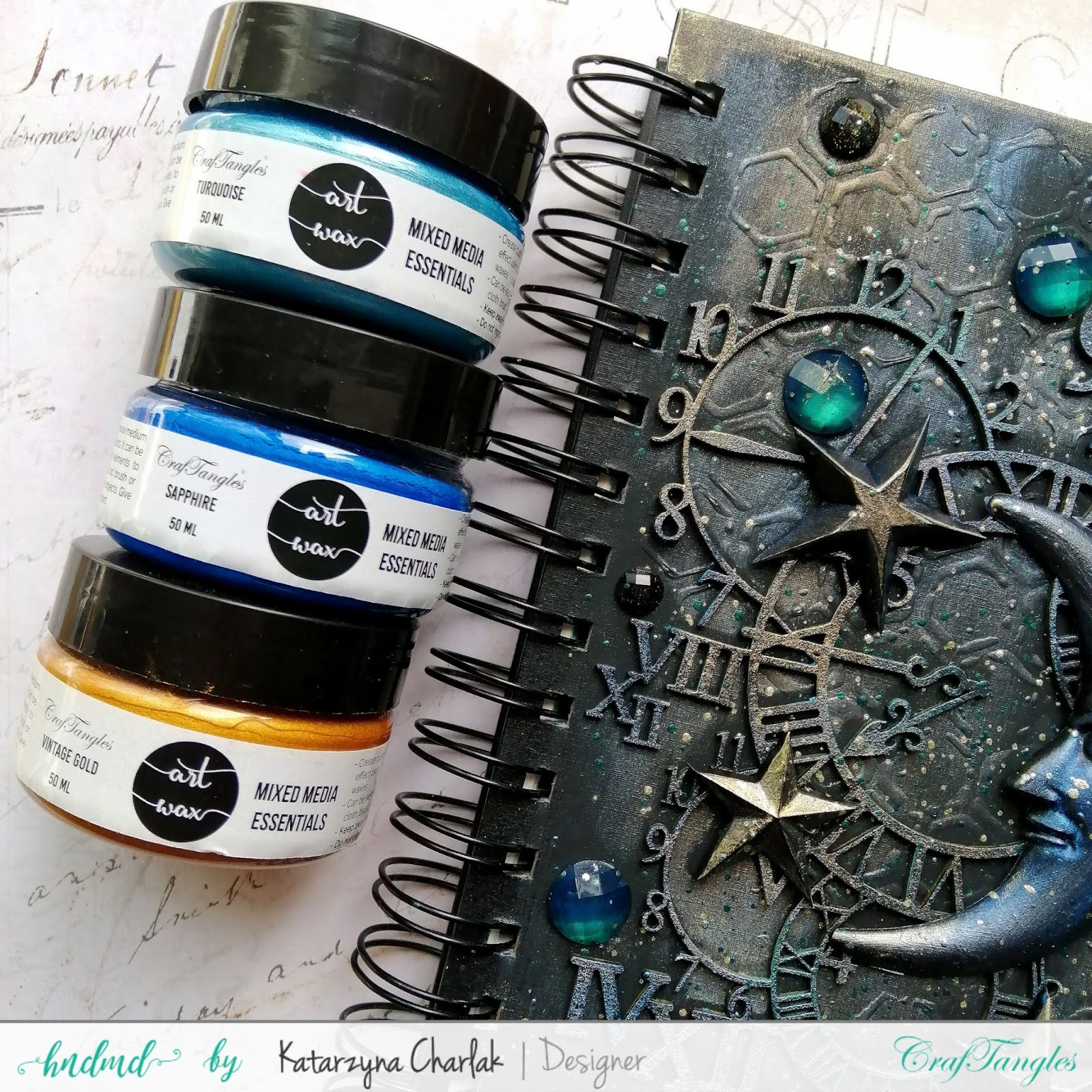 Altered Art Journal Cover by Katarzyna Charlak 8