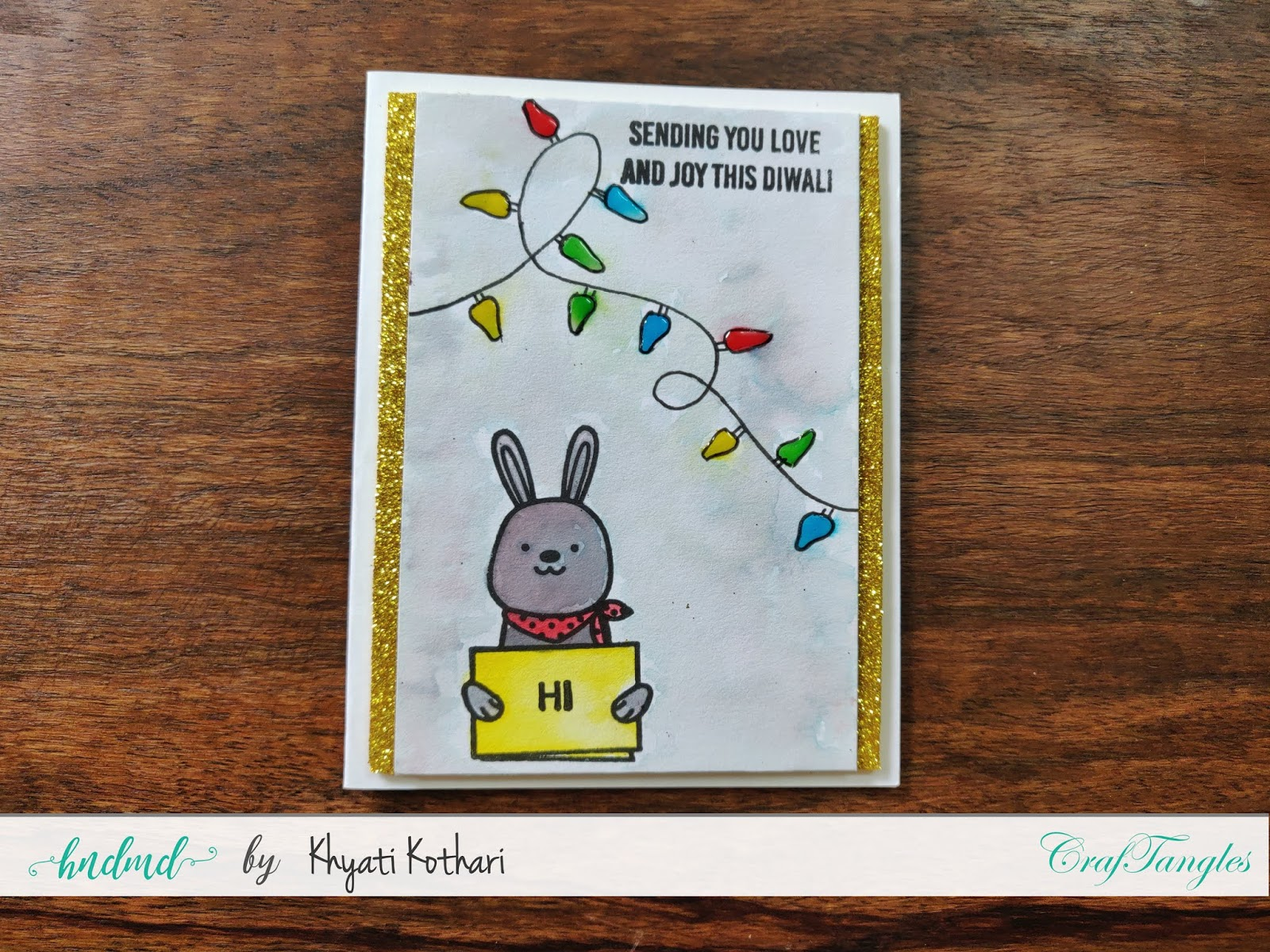 How to Stretch your stamps - Cardmaking video tutorial 11