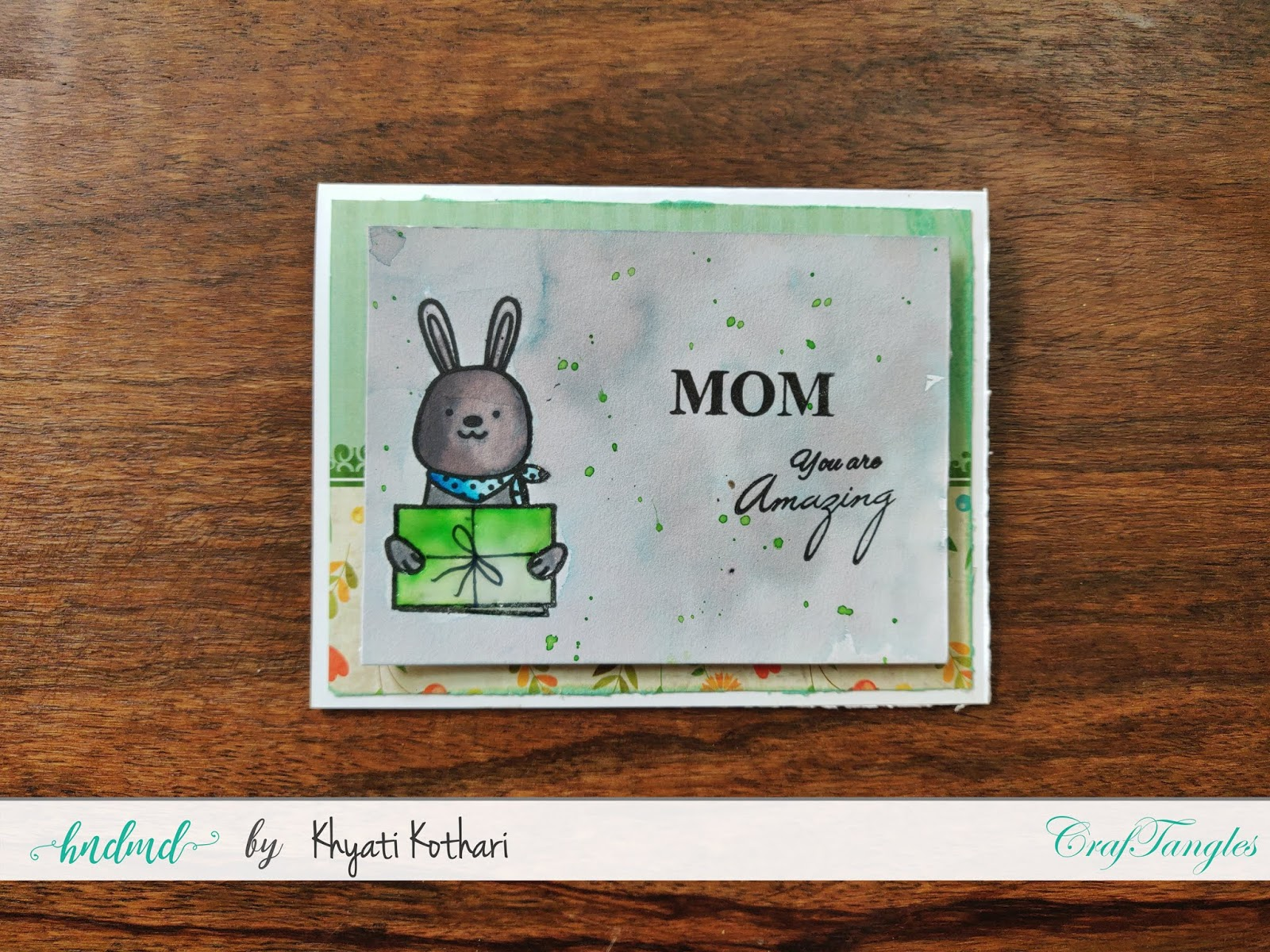How to Stretch your stamps - Cardmaking video tutorial 13