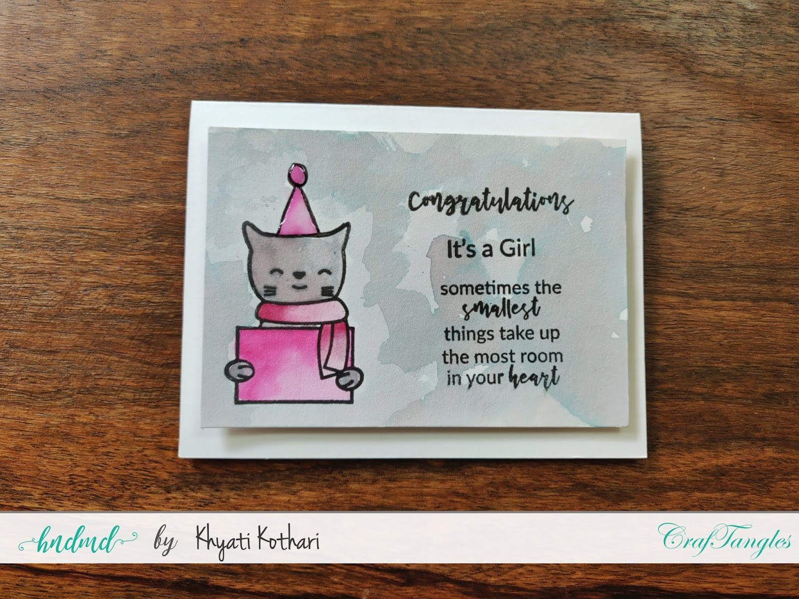 How to Stretch your stamps - Cardmaking video tutorial 16