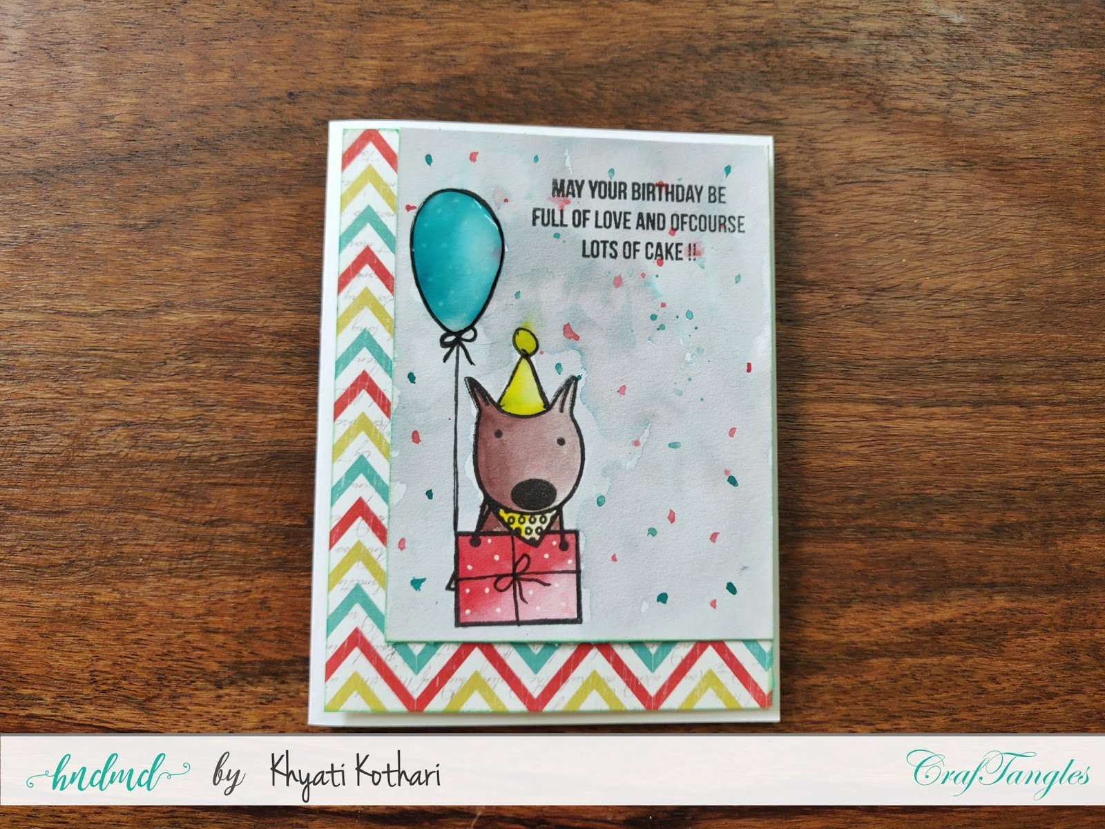 How to Stretch your stamps - Cardmaking video tutorial 17